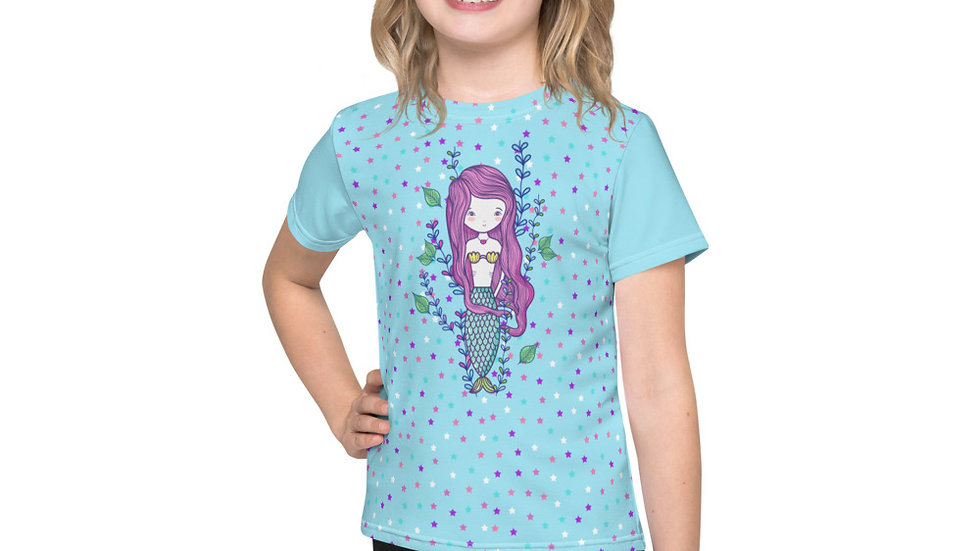 Adalee Mermaid Kids crew neck t-shirt