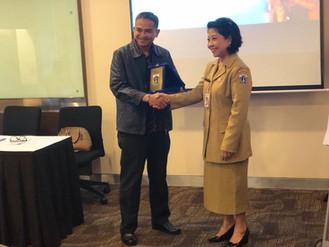 Kegiatan Benchmarking Diklat Kepemimpinan Tingkat IV ke PT. Garuda Indonesia (Training Center)