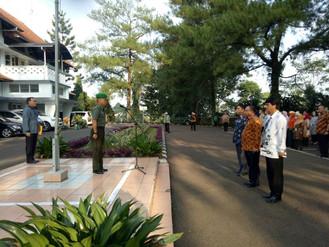 Apel Diklat Kepemimpinan Tingkat IV di PPMKP Ciawi