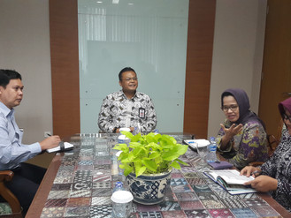 Audiensi Badan Diklat Provinsi DKI Jakarta dengan Kepala LAN RI