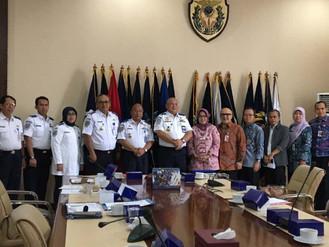 Kunjungan Dalam Rangka Kerjasama BPSDM Provinsi DKI Jakarta Dengan BPSDM Kemenhub RI
