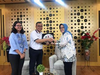 Kunjungan Audiensi Penerapan Corporate University Ke Telkom Corporate University Bandung Jumat 22 Ma