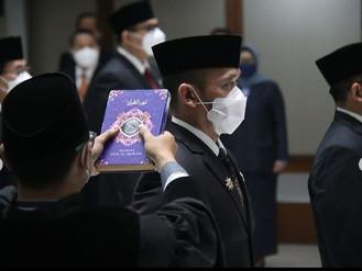 Pelantikan Kepala BPSDM Provinsi DKI Jakarta