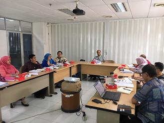 Rapat Penyusunan Modul Diklat Manajemen Proyek 2019 Jumat 5 Juli 2019
