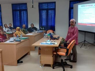 Diklat manajemen BLUD angkatan 19, Pengajar Ibu Ratnasari, Materi Akutansi keuangan BLUD di Jakarta