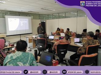 Bimbingan Teknis Pembuatan Produk Pembelajaran dalam Pelatihan Berbentuk Media Audio Visual