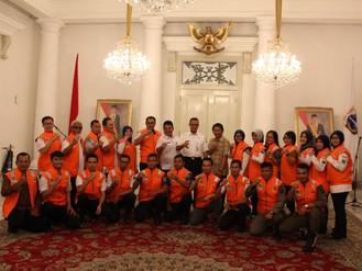 Pemerintah Provinsi DKI Jakarta mengirimkan Tim Psikososial ke daerah bencana