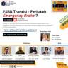 Webinar : PSBB Transisi: Perlukah Emergency Brake?