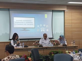 Sharing Experience e-learning Pemprov DKI dalam acara Fasilitasi Pemerintah Daerah di BPSDM Kemendag