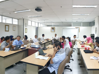 Lanjutan Pembahasan Persiapan Pelaksanaan CoP Alumni Tugas Belajar di BPSDM DKI Jakarta