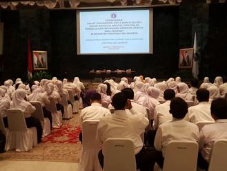 Pembukaan 3 Diklat yang diadakan oleh BPSDM DKI Jakarta di Balai Agung