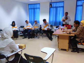Diklat Teknis Pemerintah Kecamatan dan Kelurahan Serta Estate Management Angkatan 26 Selasa 6 Agustu