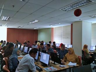 Pelaksanaan Ujian sertifikasi Tk. Dasar Pengadaan Barang dan Jasa, Kamis, 8 Agustus 2019, bertempat