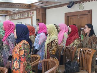 Pembukaan Diklat Family Development untuk Istri Peserta Diklat Kepemimpinan tingkat 3 di wilayah DKI