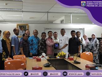 """Kunjungan Kerja  Anggota Banggar DPRD Kota Banjarmasin terkait """"Peran DPRD dan Pemda dalam Peng"""