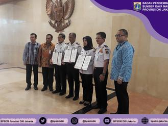 Penandatanganan Perjanjian Kerjasama antara Pemerintah Provinsi DKI Jakarta dengan Politeknik Transp