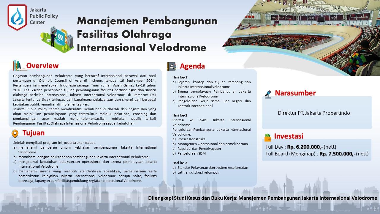 Public Training Manajemen Pembangunan Fa