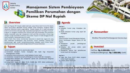 Public Training Manajemen Sistem Pembiay