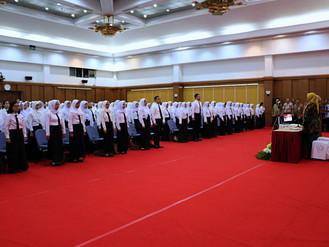 Pembukaan Pelatihan Dasar Golongan III Angkatan 1 s.d. 12 di Lingkungan Pemerintah Provinsi DKI Jaka