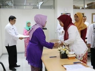 Kegiatan Serah Terima Jabatan di Lingkungan BPSDM DKI Jakarta