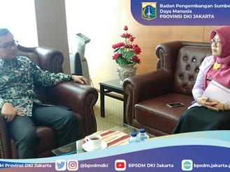 Kunjungan Kerja Ke Deputi Bidang Kebijakan Pengembangan Kompetensi ASN LAN RI (Dr. M. Taufiq, DEA)