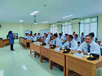 Diklat SATPOL PP Angkatan, VII Tahun 2019 Jumat 2 Agustus Narasumber Ika Suhartika (DDN) Materi Wawa