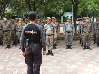 Diklat Dasar Satuan Polisi Pamong Praja Bertempat di Jakarta Islamic Center (JIC) Jakarta Utara