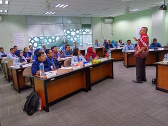 Diklat PIM 4 Ang. 124 Materi  Manajemen Perubahan Narasumber Prof Syamsul Maarif di JIC Rabu, 20 Mar