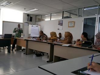 Pelaksanaan Diklat Pengadaan Barjas bagi para pegawai BPSDM Provinsi DKI Jakarta 26 April 2019
