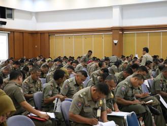 Uji Kompetensi dan Sertifikasi Profesi Jabatan Fungsional Polisi Pamong Praja