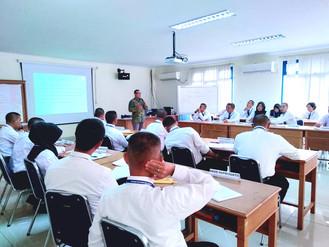 Diklat Satpol PP Angkatan 5 Tempat Departemen Perhubungan Parung Bogor Pengajar Pak Elegan Materi Ye
