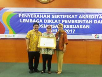BPSDM mendapatkan Akreditasi untuk Diklat Prajab dan Kepemimpinan