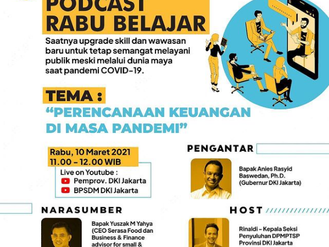 Podcast Rabu Belajar Episode Perdana