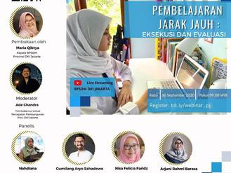 Webinar Pembelajaran Jarak Jauh: Eksekusi dan Evaluasi