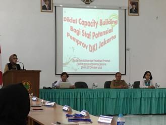 Pembukaan dan Pengarahan Diklat Capacity Building (CB)