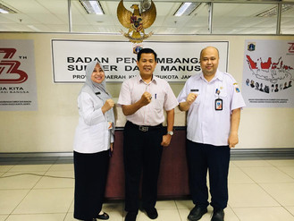 Kunjungan Kerja BPSDM Jabar Terkait eLearning Tahun 2019