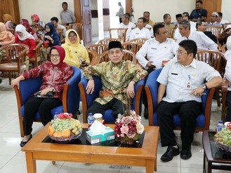 Silahturahmi Pegawai BPSDM Provinsi DKI Jakarta dalam menyambut bulan Ramadhan 1439 H