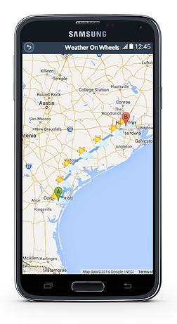 Weather On Wheels App