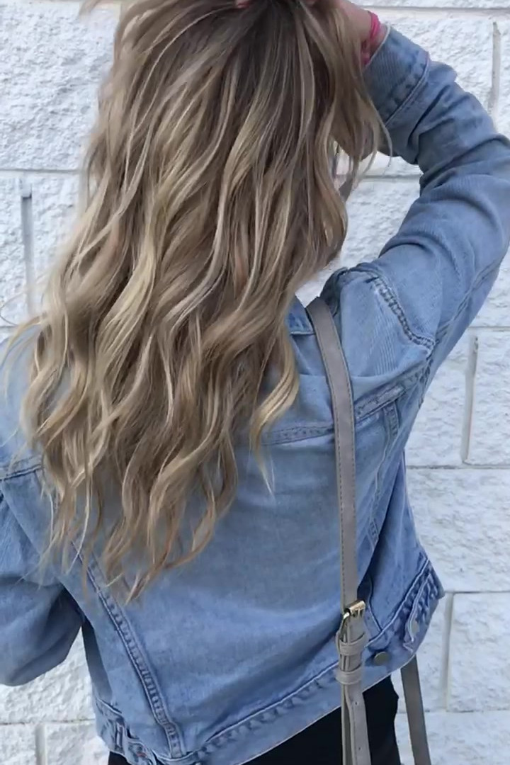 Partial Cool Ash Blonde Balayage