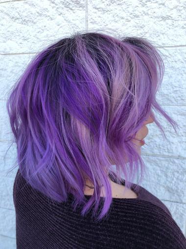 Ranges of Purple