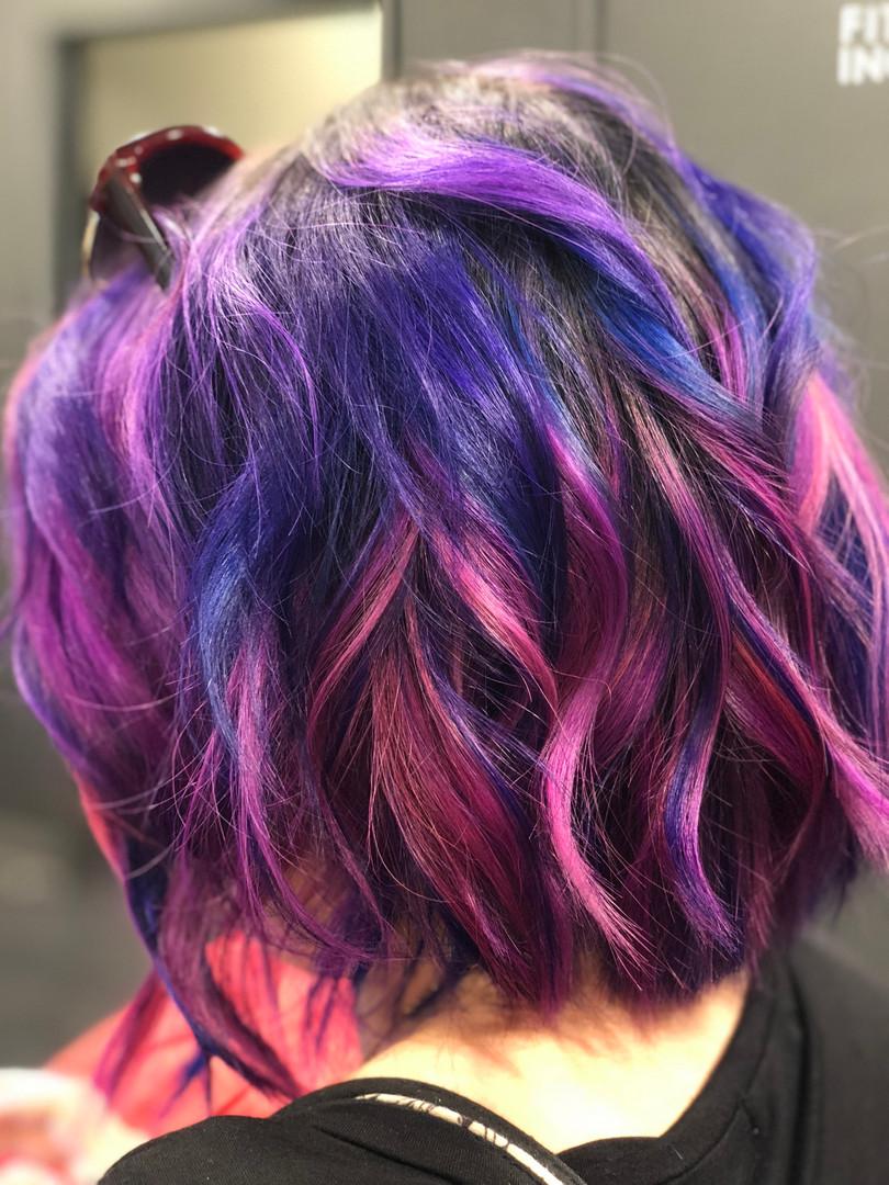 Magenta, Purple, & Pink