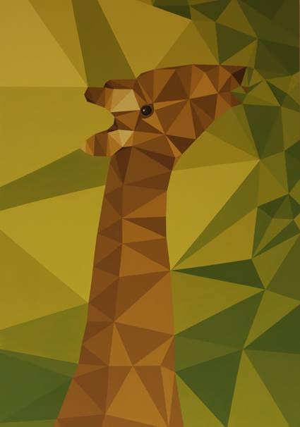 riccardo colombo art giraffa