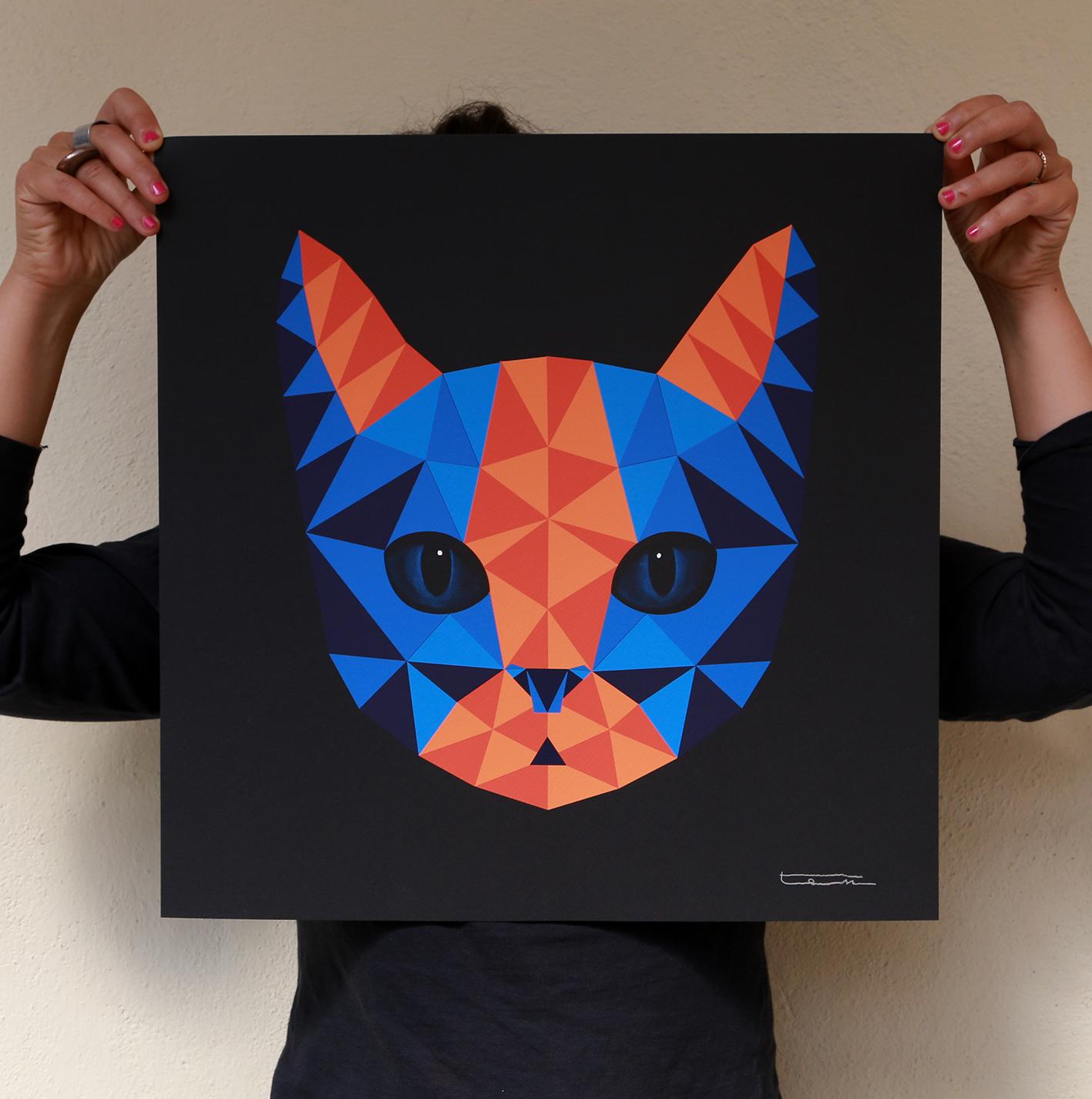 Ernest print 50x50