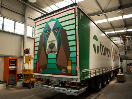 Truck restyling for Tonoli-One Express