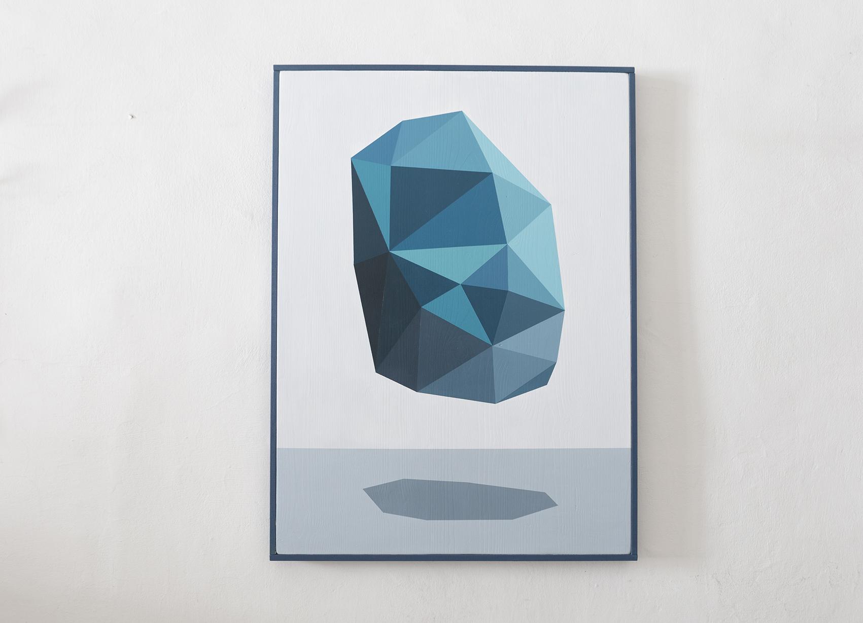 riccardo colombo art Turquoise-front