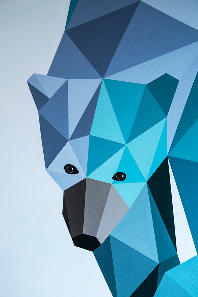 riccardo colombo art polar bear 2