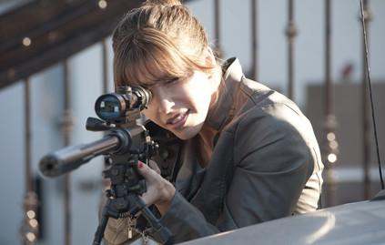 Jill Bartlett as Mara Kanig in the Sony/Crackle produced thriller CHOSEN.