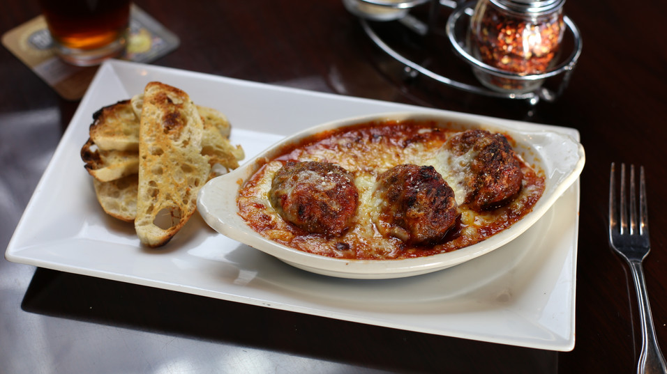 Fat Dan's Carmel House Meatballs