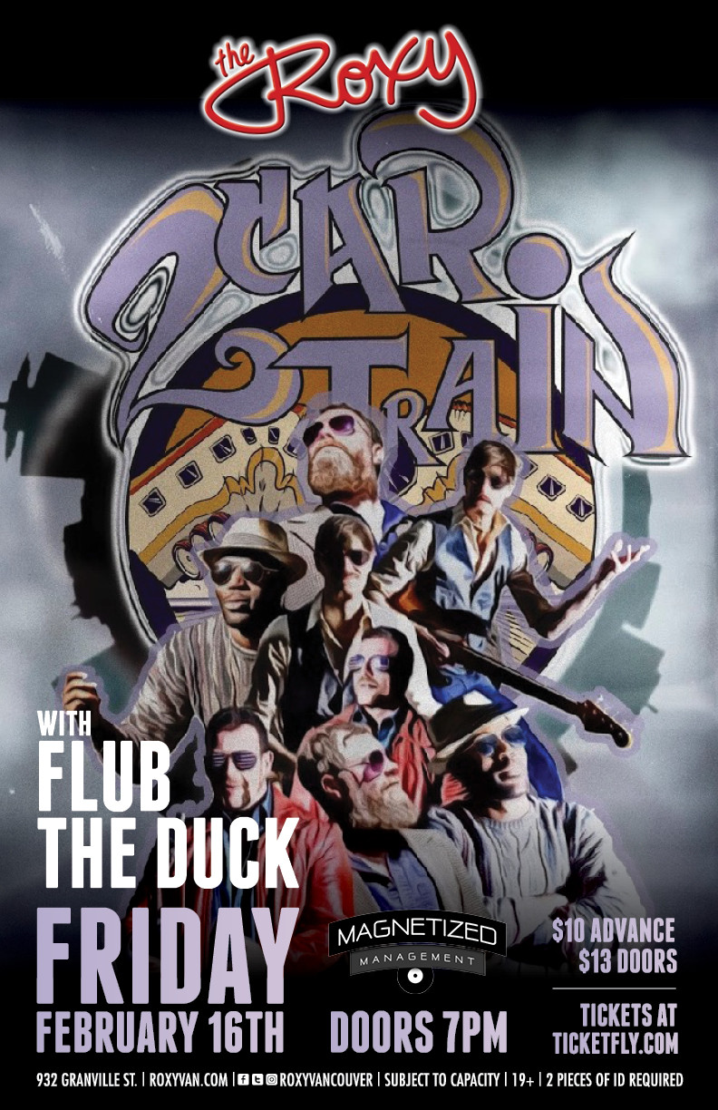 Two Car Train E.P. Release party with guests Flub The Duck