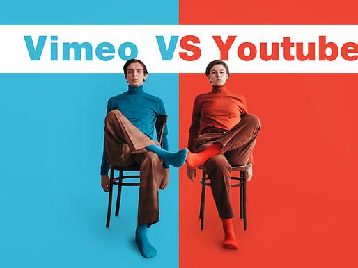 Vimeo Vs.Youtube: Choosing the Right Video Host For Your Biz